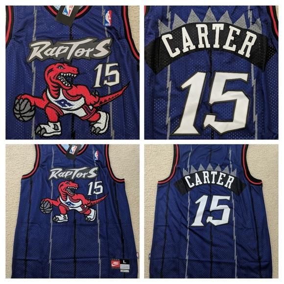 pretty nice 2d440 0edfd NWT Vince Carter Toronto Raptors Jersey Size L NWT